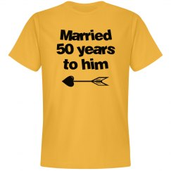 Married 50 years to him