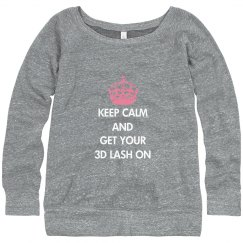 Keep Calm Sweatshirt W