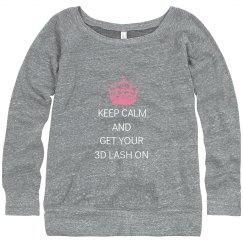 Keep Calm Sweatshirt W