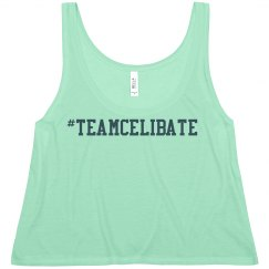 #teamcelibate loose tee