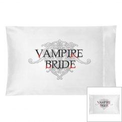 Vampire Bride Pillowcase