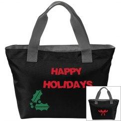 Happy Holidays Tote
