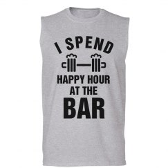 I Spend Happy Hour At The Bar