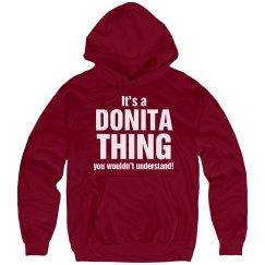 It's a Donita thing