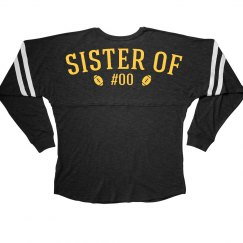 Custom Football Sister Jersey
