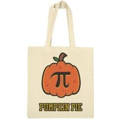 Pumpkin Pie Halloween Tote Bag