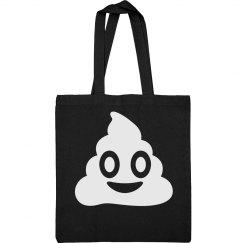 Simple Emoji Poo Bag
