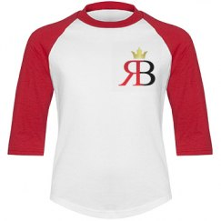 RED BOTTOMS BOYS 3/4 SLEEVE TEE