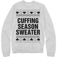 Comfy Cuffing Sweater