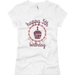 Happy 5th Birthday Lexi