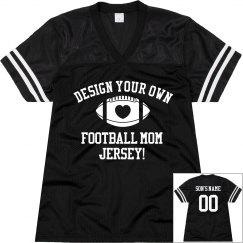 Make a Trendy Football Mom Football Jersey!
