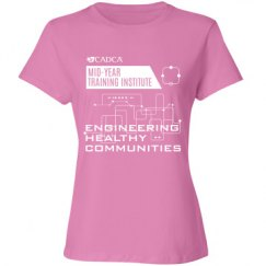 2017 MYTI Ladies T-shirt - Candy Pink