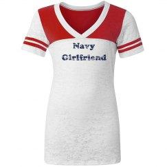 Navy Girlfriend Tee