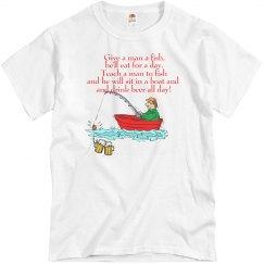Funny fishing shirts