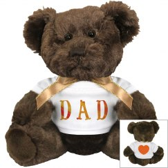 Dad Cuddly Teddy