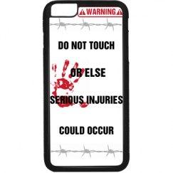 Warning IPhone 6 Plus Case