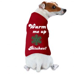 Funny Dog Tee Christmas