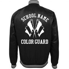 Trending Color Guard School Bomber Jackets