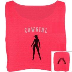 Pistol cowgirl