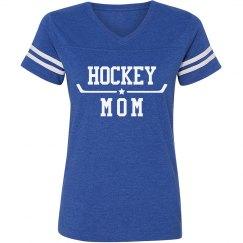 Simple Hockey Mom Star