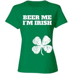 beer me I'm Irish