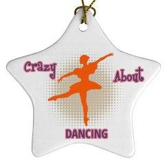 Dance Christmas Ornaments