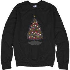 Grey Christmas tree