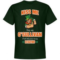 Kiss me I'm an O'sullivan