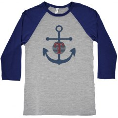 Anchor Monogram Raglan
