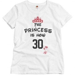 Princess is now 30