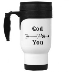 God Love's You Stainless Steel Travel Mug