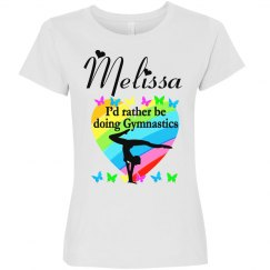 GYMNASTICS IS MY LIFE PERSONALIZED T SHIRT