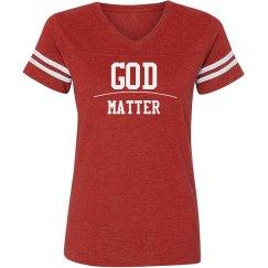 God over Matter tee