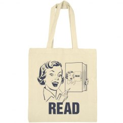Reading Is Cool Tote