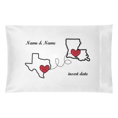 Distance Relationship Pillow