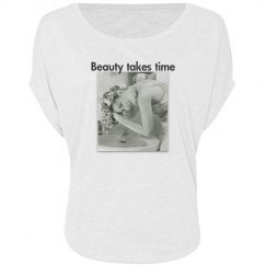 Beauty takes time