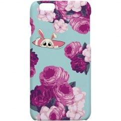 Bunny Flower iPhone Case