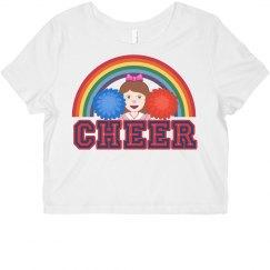 Rainbow Cheer Crop