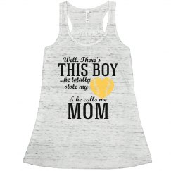 Baseball Mom Yellow