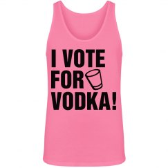 Vote For Vodka in Neon