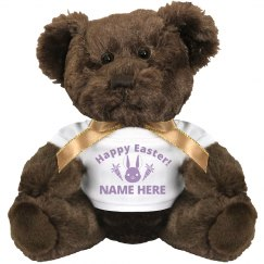 Happy Easter Custom Name Plush