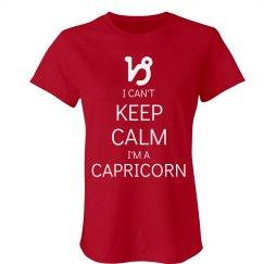Keep Calm Capricorn