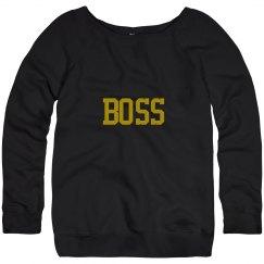 Boss Long Sleeve Sweatshirt