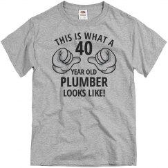 40 year old Plumber