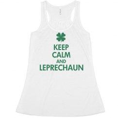Keep Calm Leprechaun
