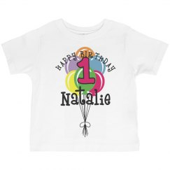 1 year old! Natalie