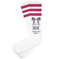 Fear The Bow Cheer Socks