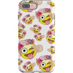 Monkey Flower Emoji Phone
