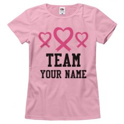 Breast Cancer Team Heart