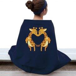 GiraffeLove Blanket